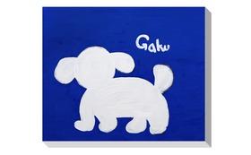 【ジークレー:Blue Dog】+マグネット+画集本&CD