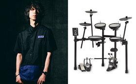 大喜多崇規さんプライベート・ドラム・レッスン/電子ドラム TD-1DMKご提供
