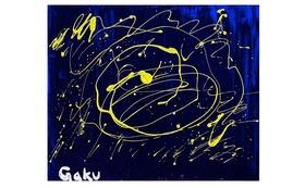 【キャンバスF20:Drip Yellow】+マグネット+画集本&CD