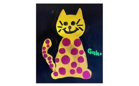 【キャンバスF20:Gold Cat】+マグネット+画集本&CD