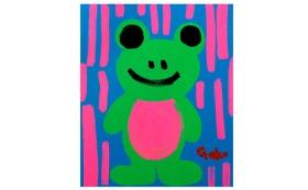 【キャンバスF20:Pink Fron】+マグネット+画集本&CD