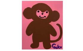 【キャンバスF20:Pink Monkey】+マグネット+画集本&CD
