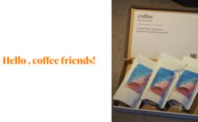 コーヒー豆 300g(100g×3) & オリジナルTシャツ