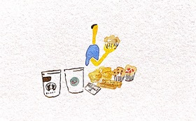 コーヒーと焼き菓子お届け便     (2回 冬と春)