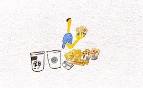 コーヒーと焼き菓子お届け便      (4回 冬、春、夏、秋)