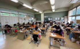 小学生の挑戦!!  応援コース    子ども達からの「直筆感謝の手紙」