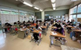 小学生の挑戦!!!応援コース     子ども達からの「直筆感謝の手紙」