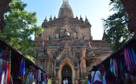 お礼のお手紙とミャンマーの写真10枚-10