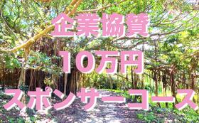 【全力応援・企業さま向け】10万円スポンサーコース!特別記念冊子に会社名を掲載♪