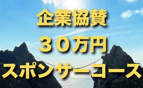 【全力応援・企業さま向け】30万円スポンサーコース!特別記念冊子に会社名を掲載♪1ページ特別制作♪