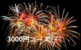 3000円コース