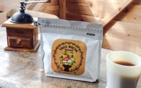さらに追加!【このほしのコーヒータイムセット】ツリーハウスオリジナルブレンドコーヒーと本拠地五城目町のお菓子をお届け。