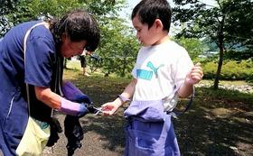 【応援!】1万円コース:藍染ハンカチ