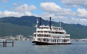 琵琶湖の南湖を周遊するエンタメクルーズ2名様乗船券 と 作品集