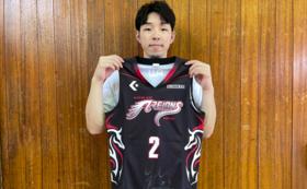岡田選手サイン入りグッズコース