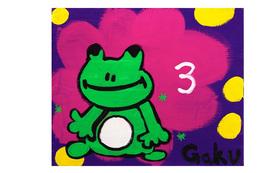 【キャンバスF20:First Frog】+マグネット+画集本&CD