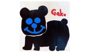 【キャンバスS12:Black Blue Bear】+マグネット+画集本&CD