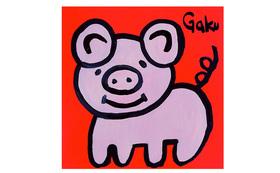 【キャンバスS12:Piggy Tail】+マグネット+画集本&CD