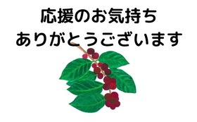 【コーヒー飲まずに応援コース】