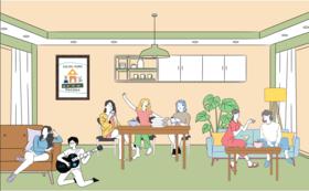 カフェスペースの貸切チケット
