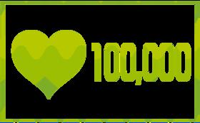 無償の愛 100,000