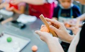 【伝売市体験】「岩嶋屋」の和菓子作り体験ペアチケット+湯の山温泉ペア入浴券