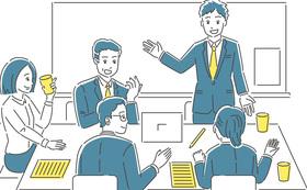 ビジネス連携の検討と連携検討会議の出席
