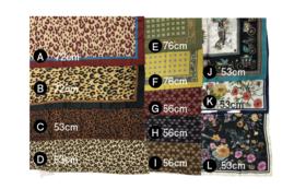 C:【数量限定】【先着順】でお選び頂けるスカーフ