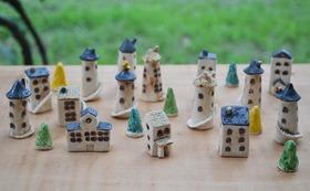 【作家名:keiko】陶器でできた家シリーズ