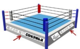 【法人向け】リング横断幕(大)スポンサーコース 500,000円