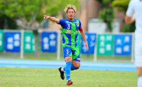 2021シーズン着用ホームユニフォーム川里光太郎
