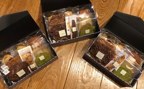 お礼のお手紙とmamanの四季のお菓子セット 年4回配送