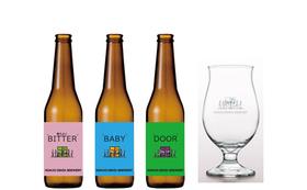 【感謝セット】第1号ビール&限定グラス