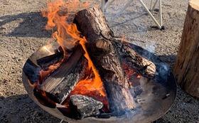 【特別体験コース】林業家・大西とキャンプ場で焚火を囲んで一晩とことん語り合う。