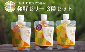 【佳豊庵】発酵ゼリー3種セット