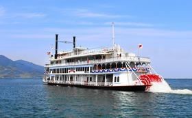G 琵琶湖を観光して応援!琵琶湖汽船クルーズ(ペア)+造園施工コンサルタントコース