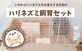 ハリネズミの飼育セット