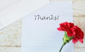 感謝の寄せ書き・セレクトミール各1個