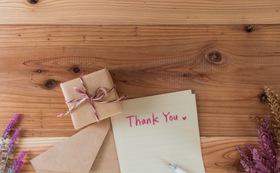 感謝の手紙 1