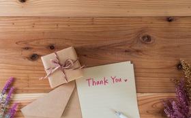 感謝の手紙 3