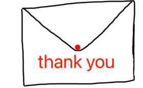 感謝のメッセージ(応援プランC)