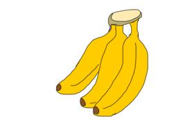 バナナをお届け