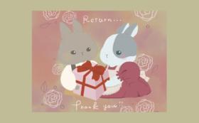 原画ポストカード2枚(ランダム)プレゼント★