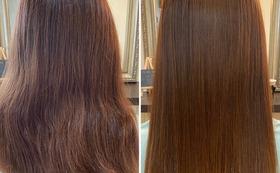 癖毛や髪が硬い、ボリュームが気になる方の悩みを、髪質改善の縮毛矯正で改善します!