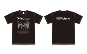 Roland V-DrumsオリジナルTシャツ