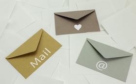 【パンフレット掲載:10000円コース】お礼のメール、HPに個人名または社名の掲載
