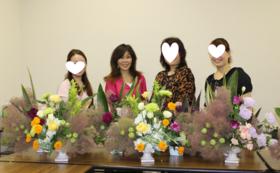 【メンタルヘルスカリキュラム】企業、医療機関、老人介護施設向け:お花の先生を派遣します(2名)