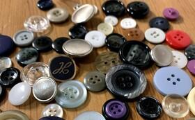 お手持ちの布製品にbotanのボタンを縫い付けます(10個まで)