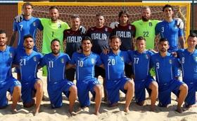 ビーチサッカーイタリア代表サイン入りユニフォーム&ビーチサッカーボール!