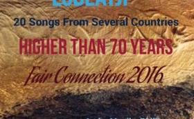 記念CD(ワールドコラボレート&コンピレーション)&出演アーチストサイン色紙